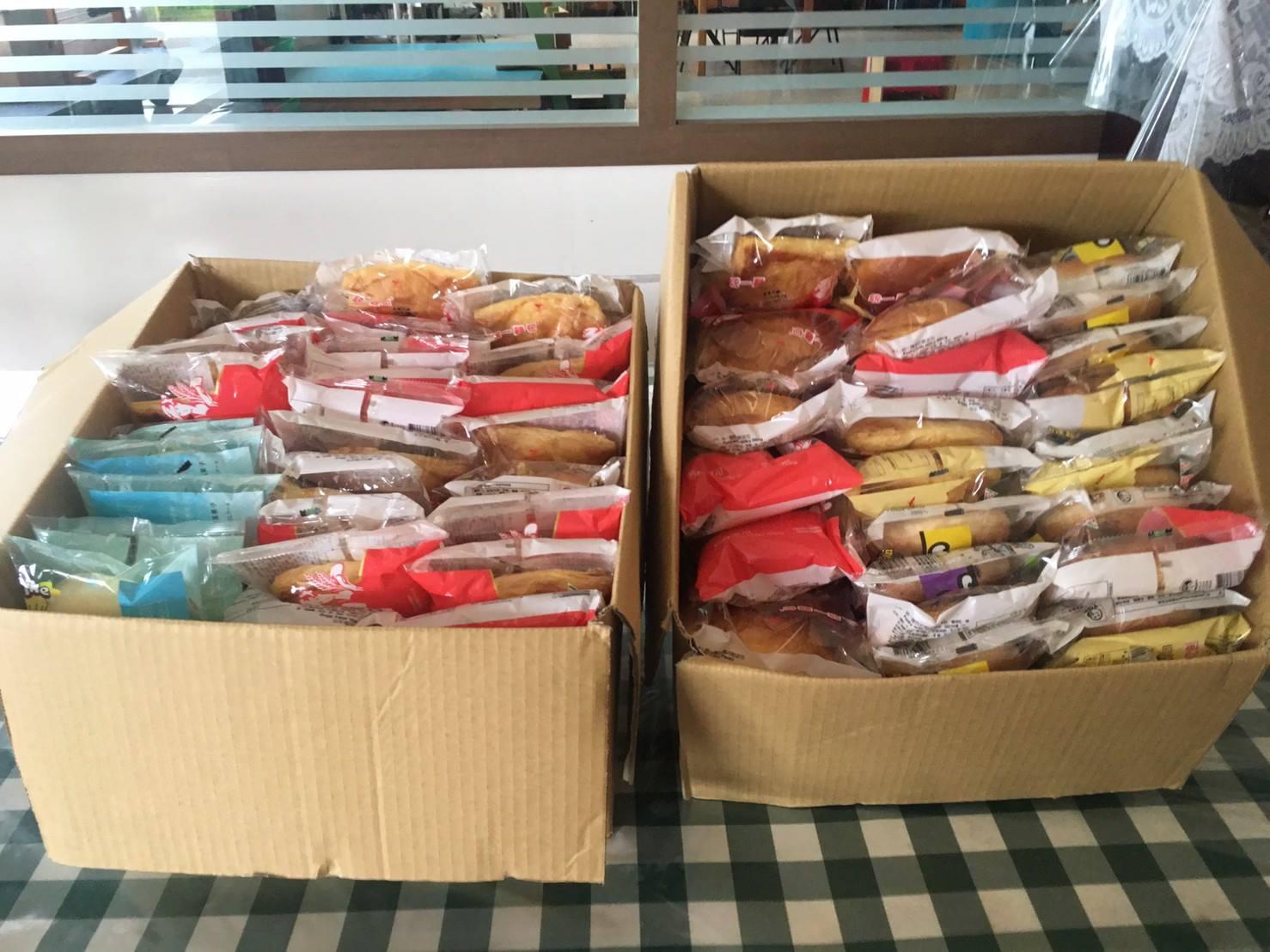 1080428善心人士捐贈美味麵包😋
